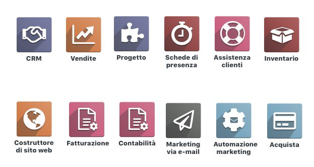 Sito E-Commerce con Odoo